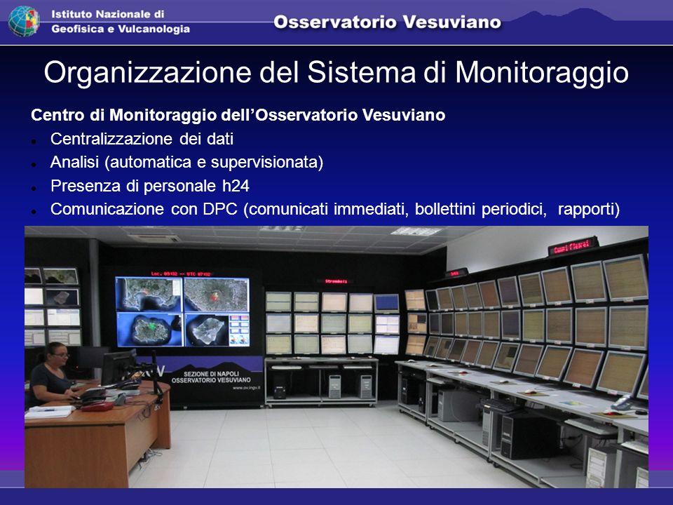 Organizzazione del Sistema di Monitoraggio