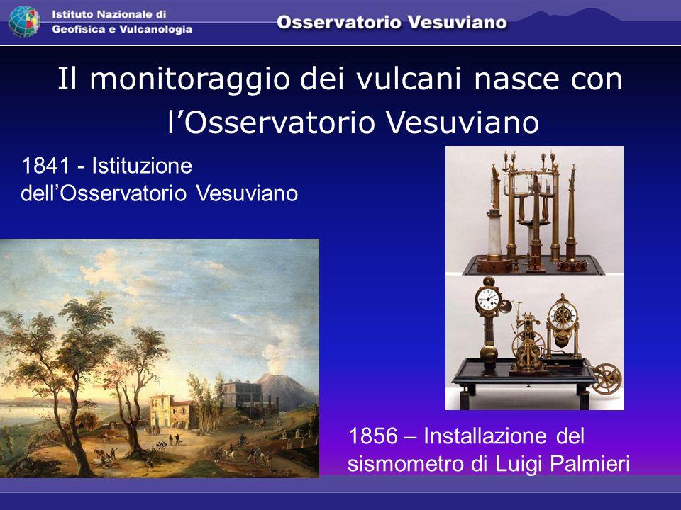 Il monitoraggio dei vulcani nasce con l'Osservatorio Vesuviano