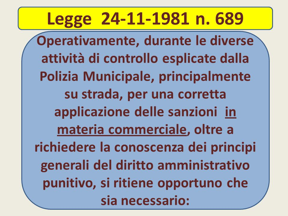 Legge 24-11-1981 n. 689