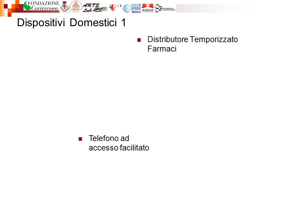 Dispositivi Domestici 1