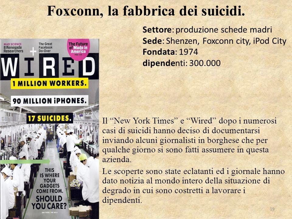 Foxconn, la fabbrica dei suicidi.