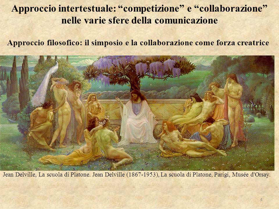 Approccio intertestuale: competizione e collaborazione nelle varie sfere della comunicazione