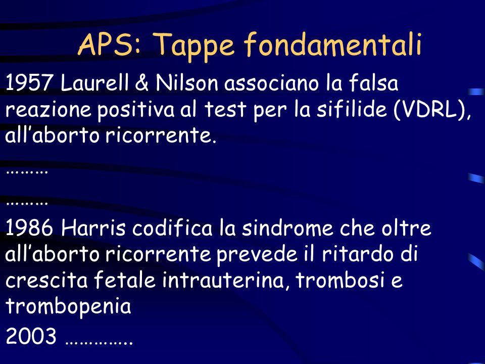 APS: Tappe fondamentali