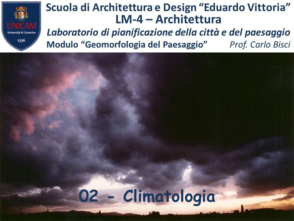 02 - Climatologia LM-4 – Architettura