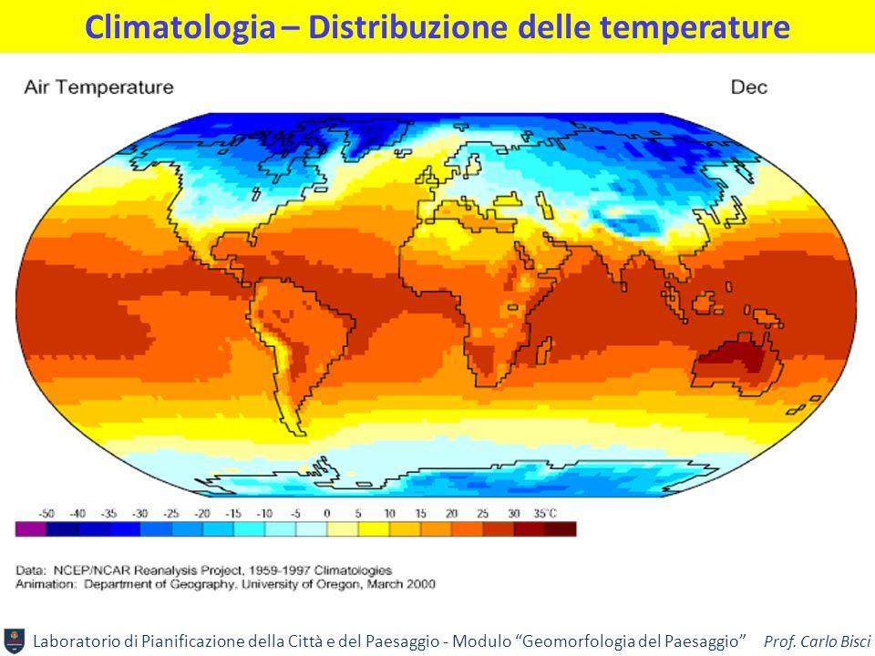 Climatologia – Distribuzione delle temperature