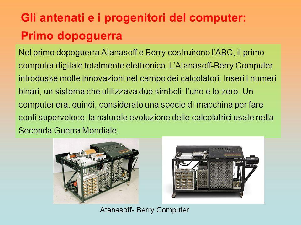 Atanasoff- Berry Computer