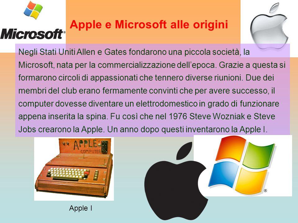 Apple e Microsoft alle origini