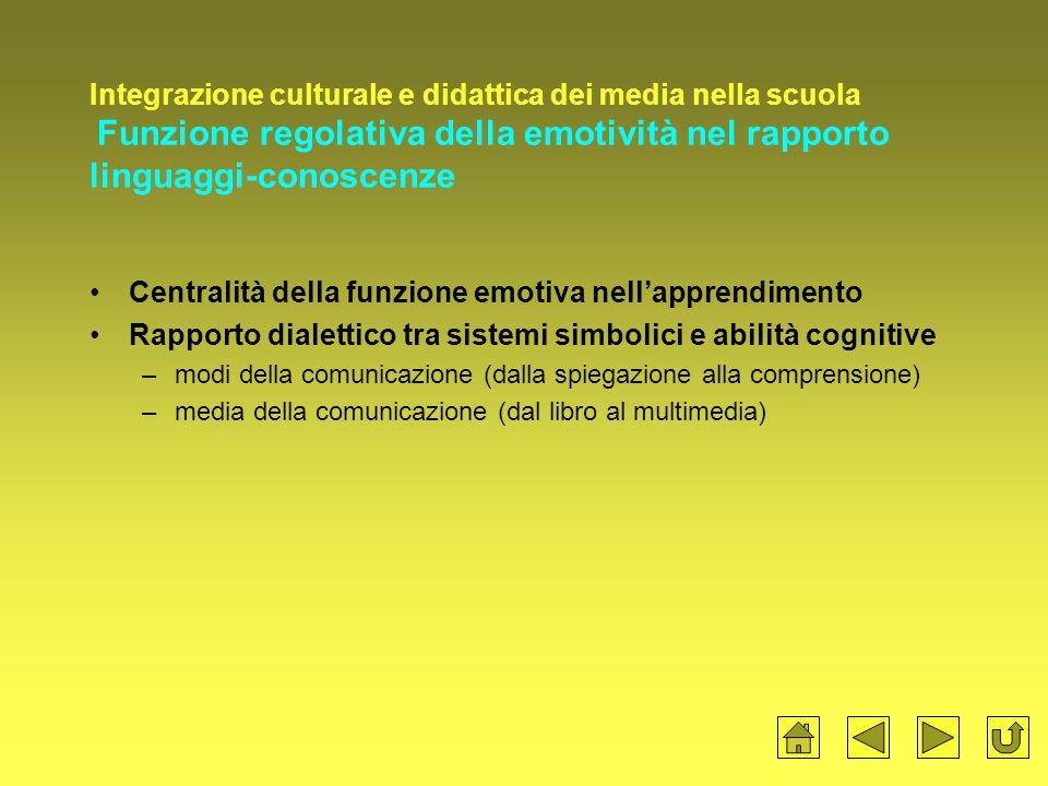 Centralità della funzione emotiva nell'apprendimento