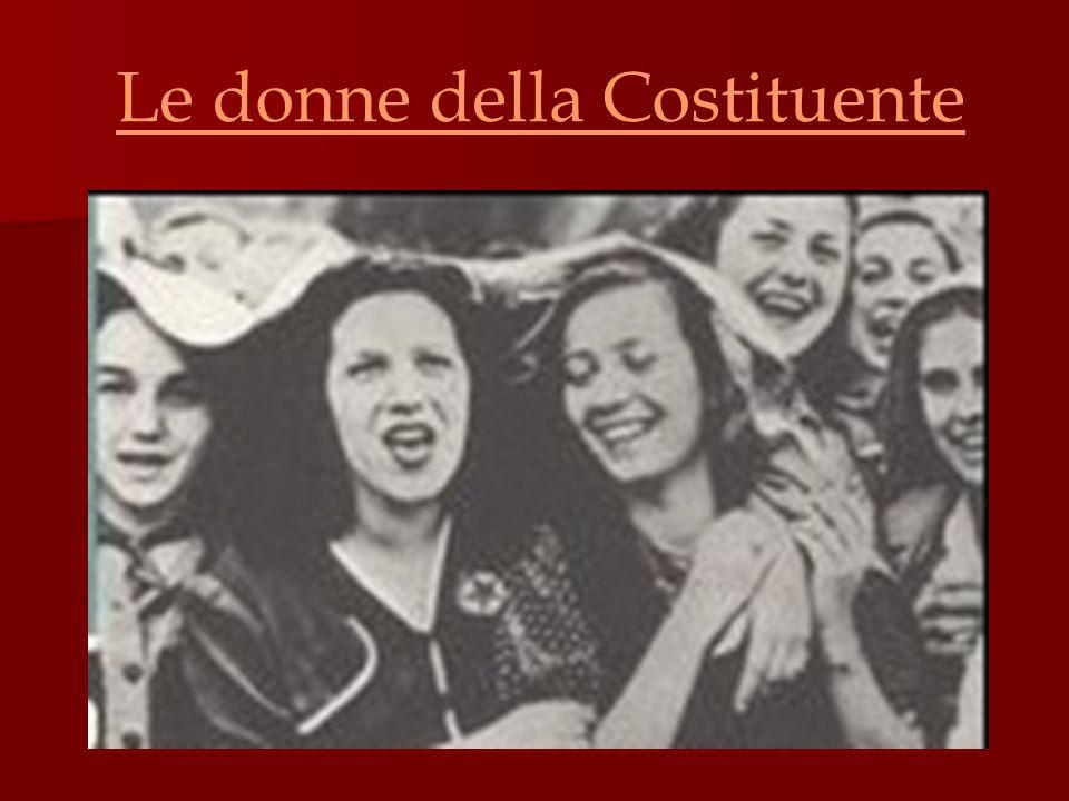 Le donne della Costituente