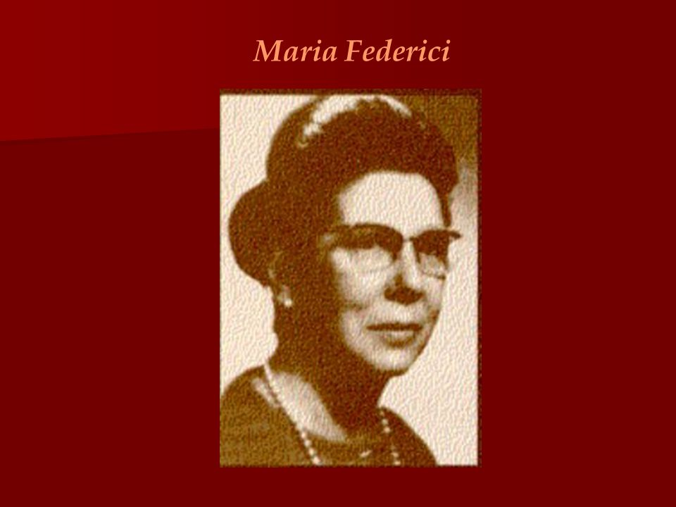 Maria Federici