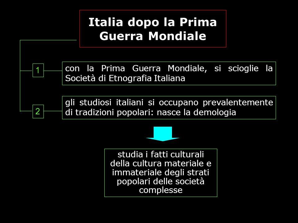 Italia dopo la Prima Guerra Mondiale