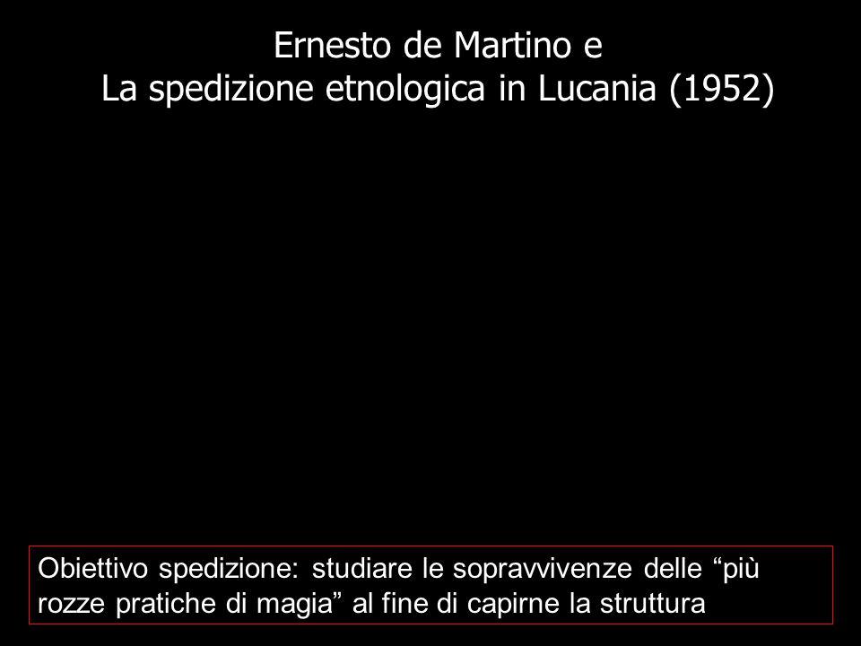 Ernesto de Martino e La spedizione etnologica in Lucania (1952)