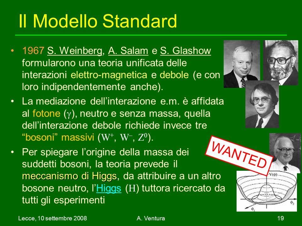 Il Modello Standard WANTED