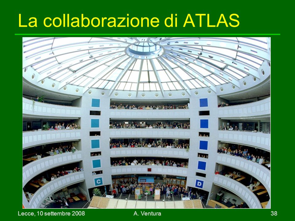 La collaborazione di ATLAS