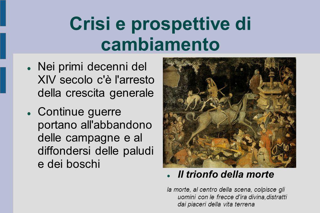 Crisi e prospettive di cambiamento