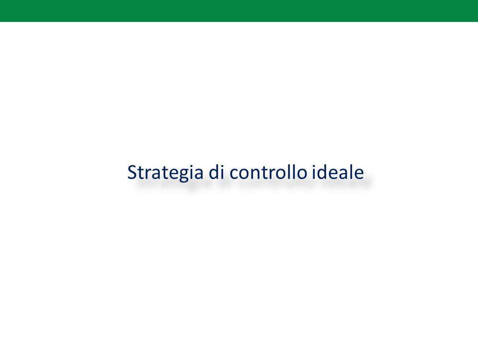 Strategia di controllo ideale