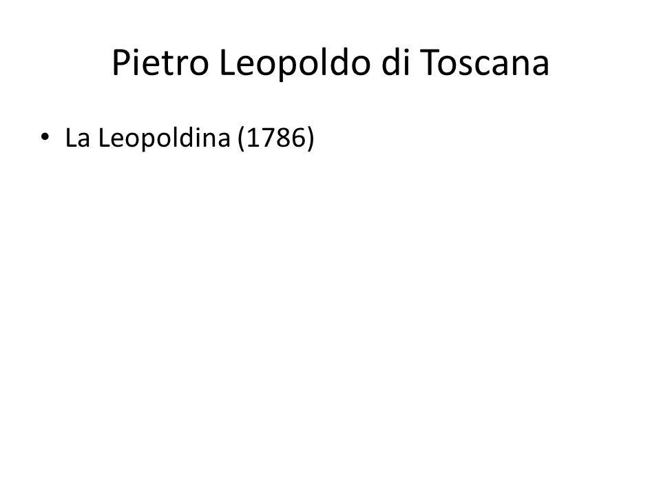 Pietro Leopoldo di Toscana