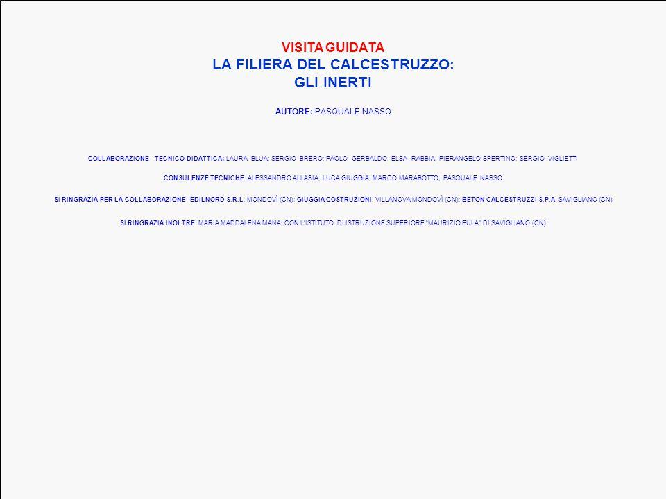 LA FILIERA DEL CALCESTRUZZO: