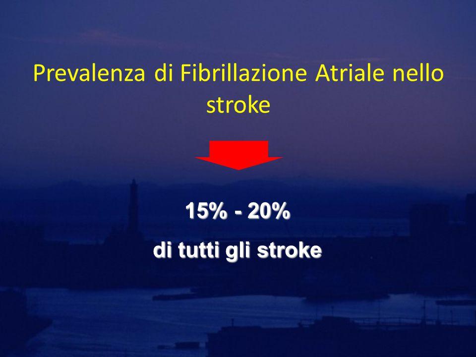 Prevalenza di Fibrillazione Atriale nello stroke