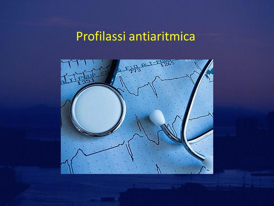 Profilassi antiaritmica