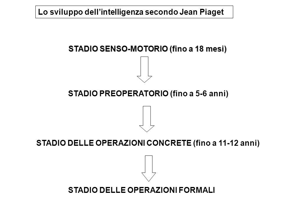 Lo sviluppo dell'intelligenza secondo Jean Piaget