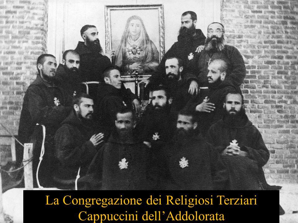 La Congregazione dei Religiosi Terziari Cappuccini dell'Addolorata