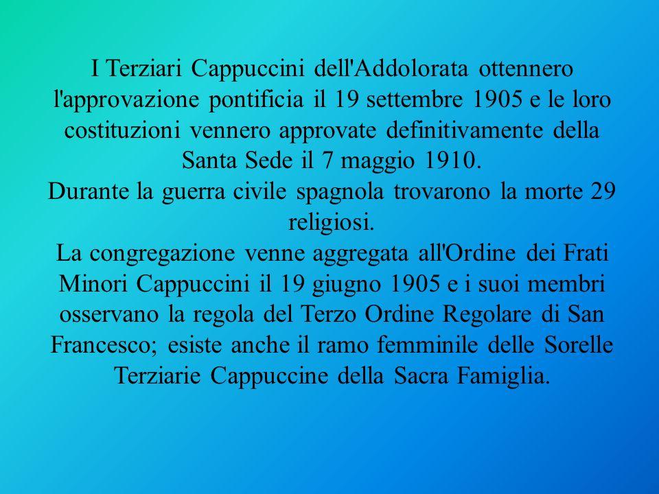 Durante la guerra civile spagnola trovarono la morte 29 religiosi.