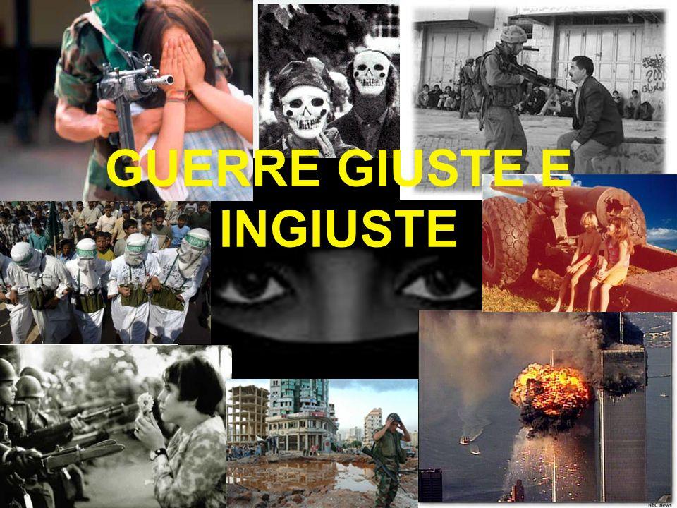 GUERRE GIUSTE E INGIUSTE