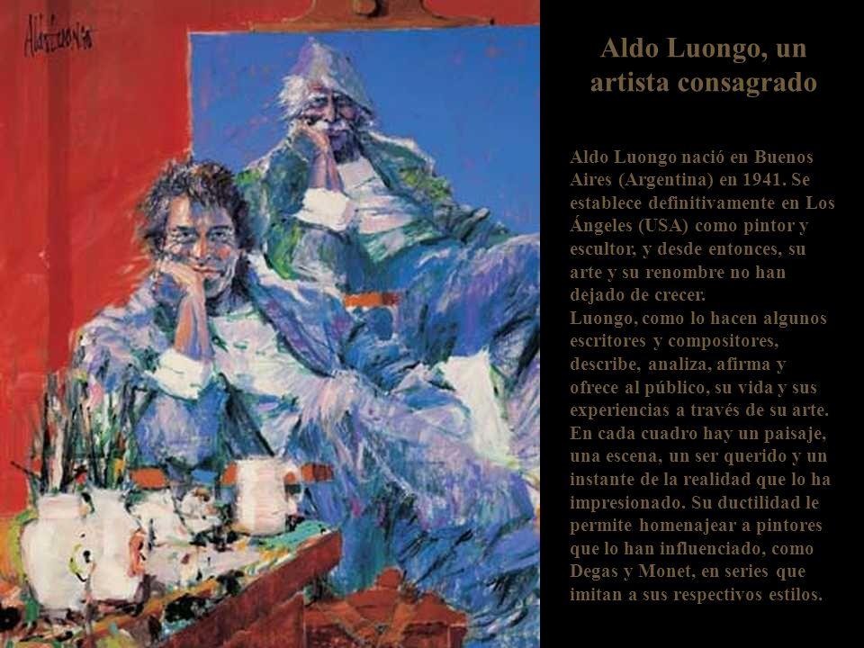 Aldo Luongo, un artista consagrado