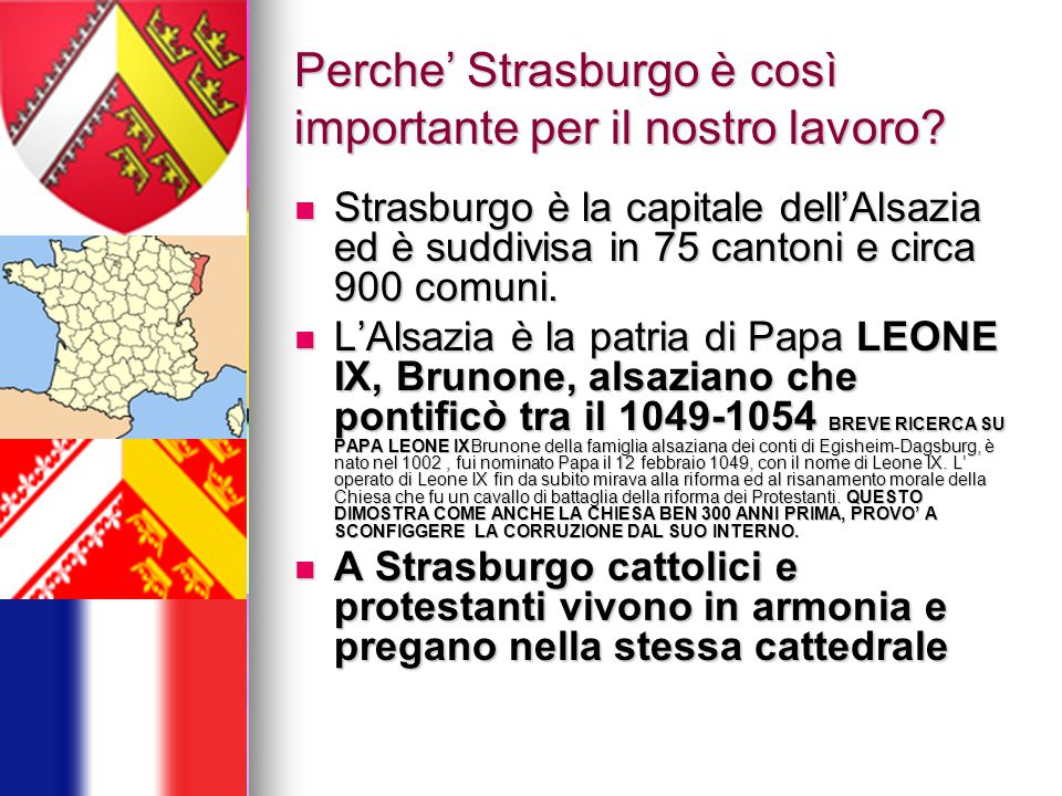 Perche' Strasburgo è così importante per il nostro lavoro