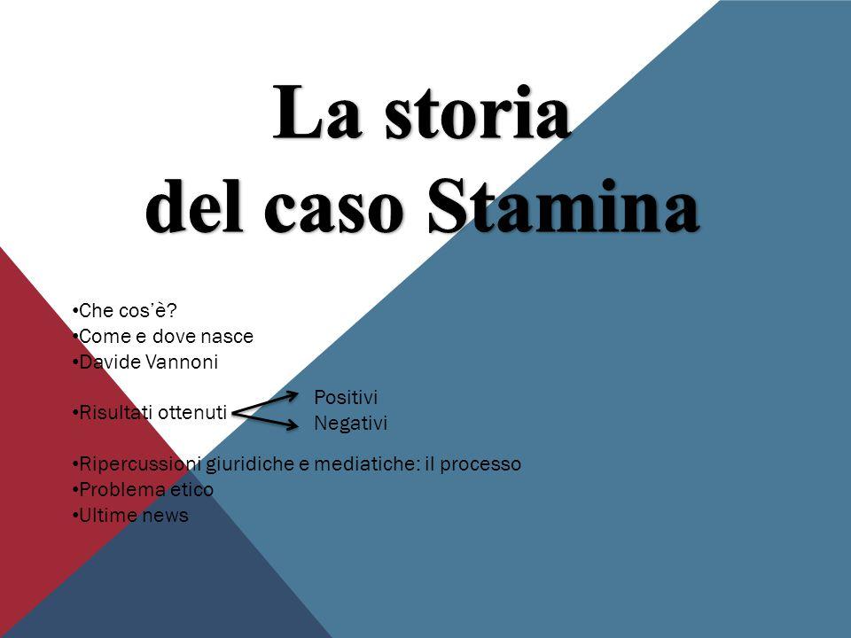 La storia del caso Stamina