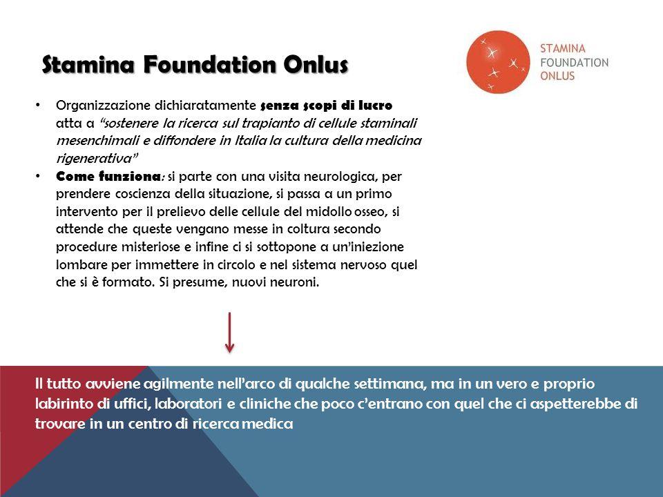 Stamina Foundation Onlus