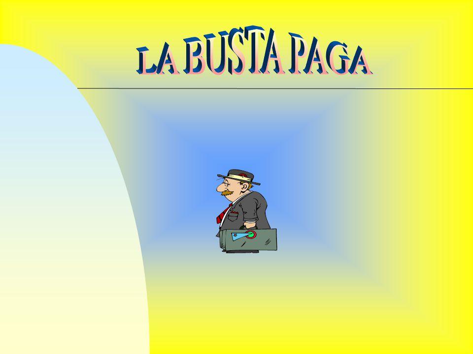 LA BUSTA PAGA
