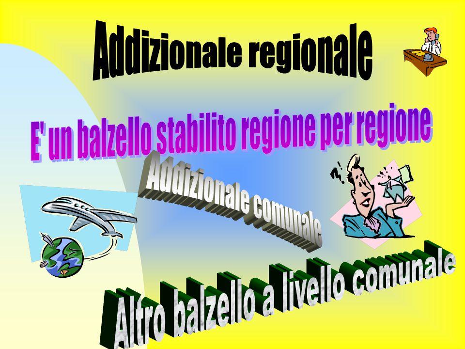 Addizionale regionale