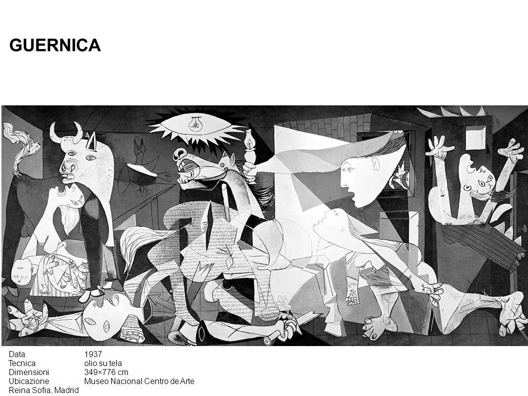 GUERNICA Data 1937 Tecnica olio su tela Dimensioni 349×776 cm