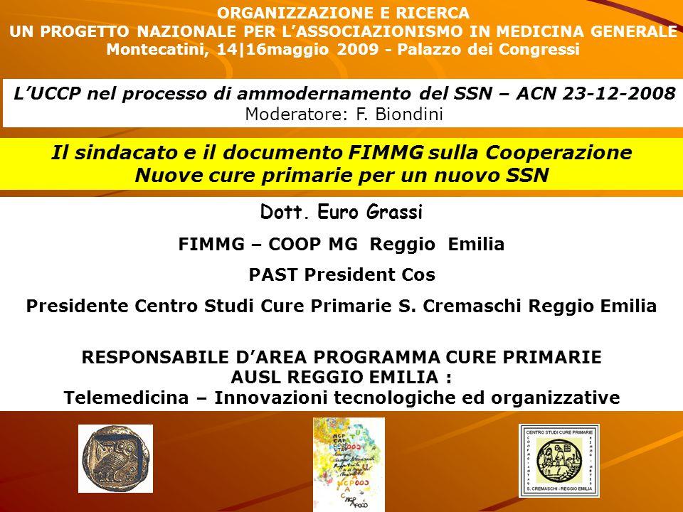 Il sindacato e il documento FIMMG sulla Cooperazione