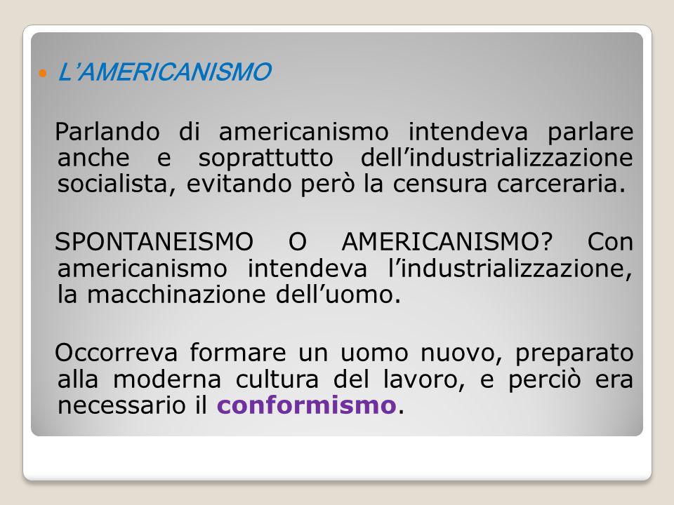 L'AMERICANISMO