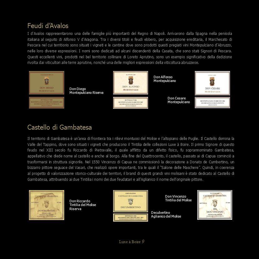 Feudi d'Avalos Castello di Gambatesa Luxe à Boire 9