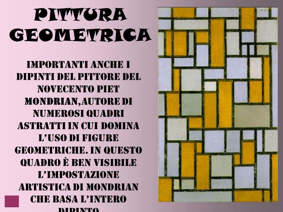 PITTURA GEOMETRICA