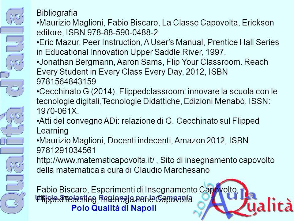Bibliografia •Maurizio Maglioni, Fabio Biscaro, La Classe Capovolta, Erickson editore, ISBN 978-88-590-0488-2.
