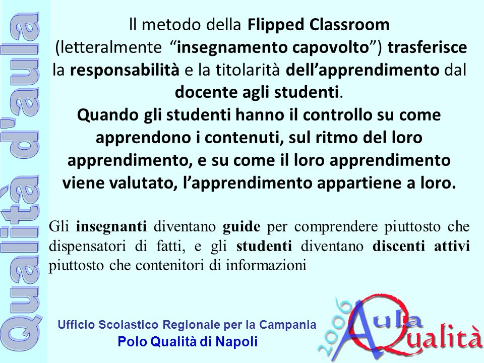 ll metodo della Flipped Classroom