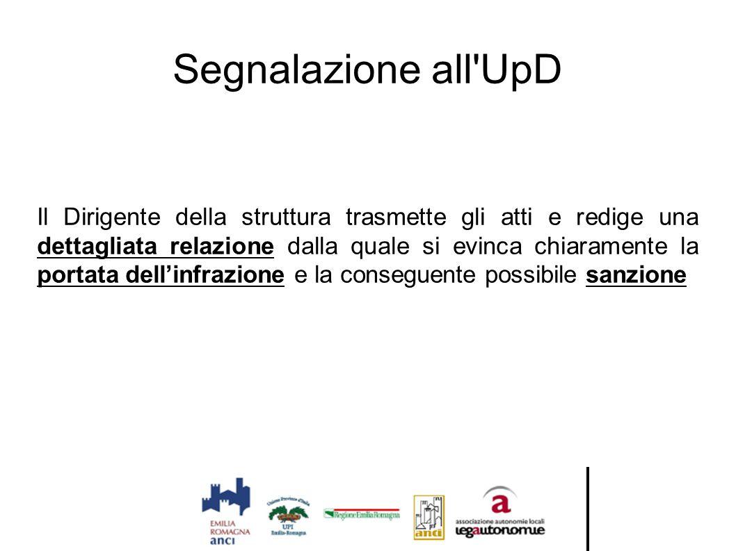Segnalazione all UpD