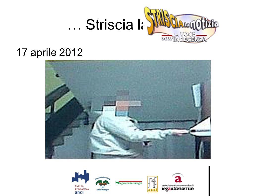 … Striscia la notizia 17 aprile 2012