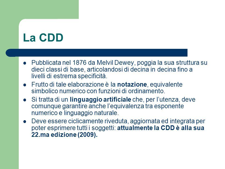 La CDD