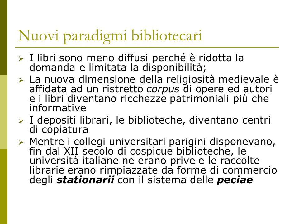 Nuovi paradigmi bibliotecari