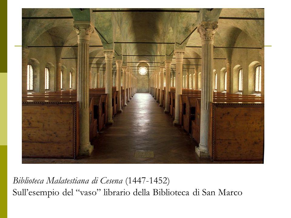 Biblioteca Malatestiana di Cesena (1447-1452)