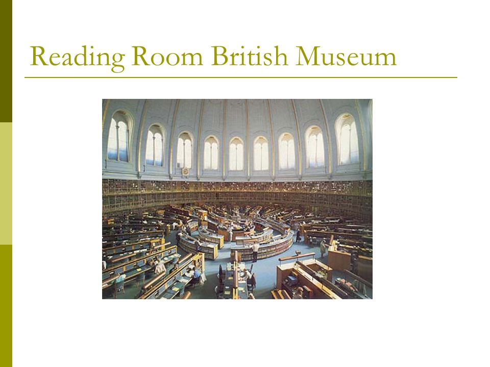 Reading Room British Museum