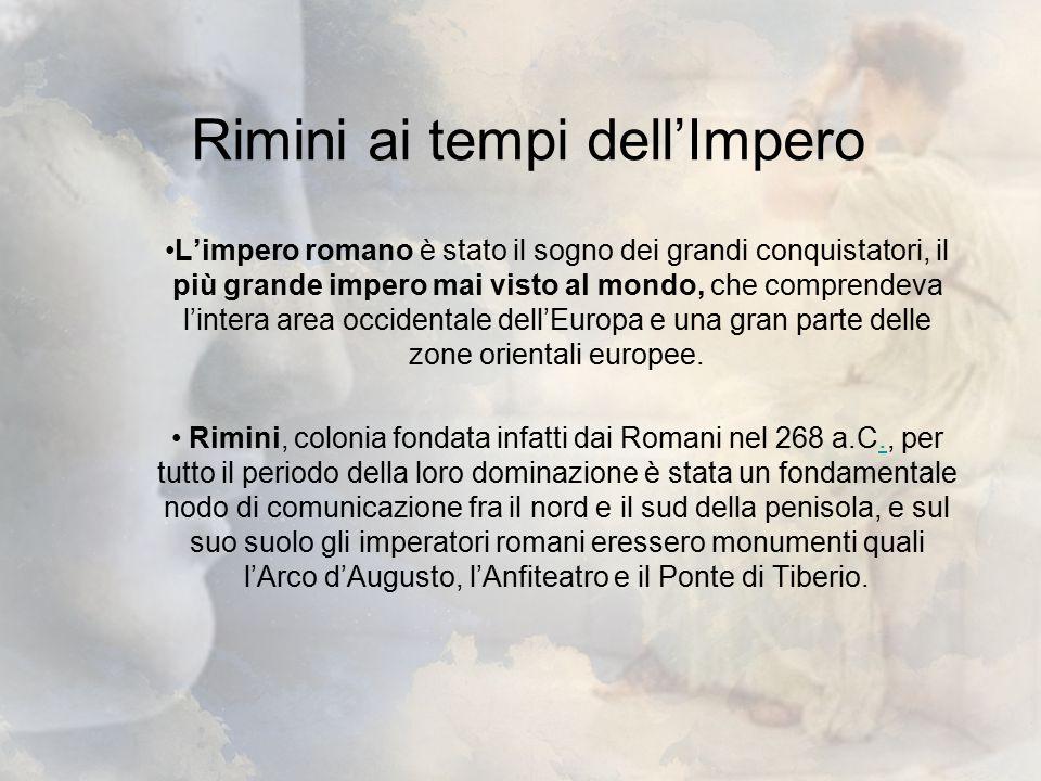 Rimini ai tempi dell'Impero