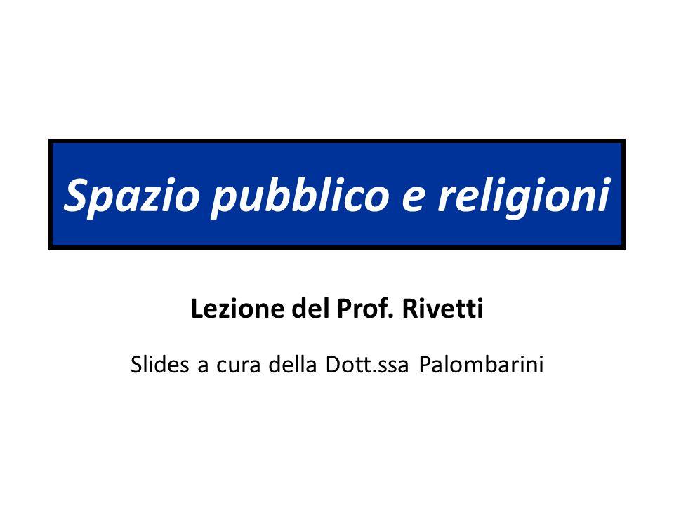Spazio pubblico e religioni