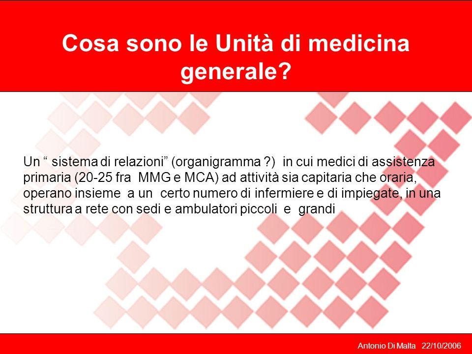 Cosa sono le Unità di medicina generale